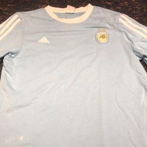 Argentinian soccer shirt